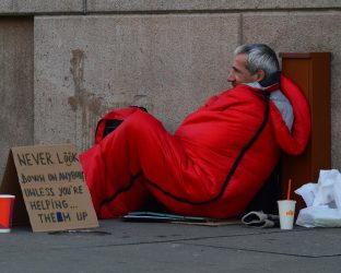 support homeless people